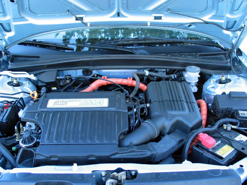 Civic Hybrid Engine
